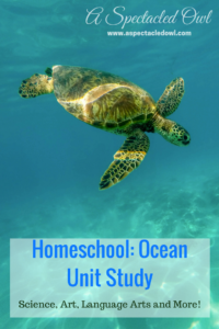 Homeschool: Ocean Unit Study