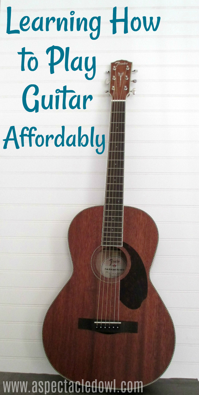 Learning How to Play Guitar Affordably with Fender
