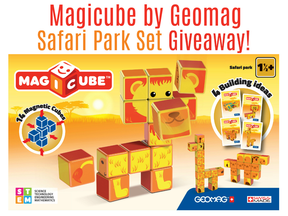 Magicube by Geoworld Safari Park Set Giveaway