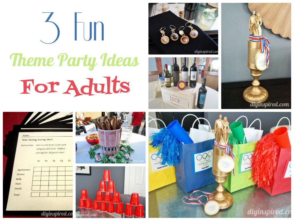 party ideas for adults theme ideas teen 12656